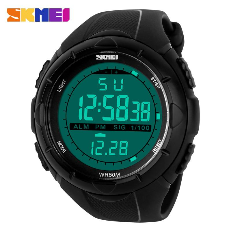 SKMEI Brand 1025 LED Digital Mens Military Watch Men Sports