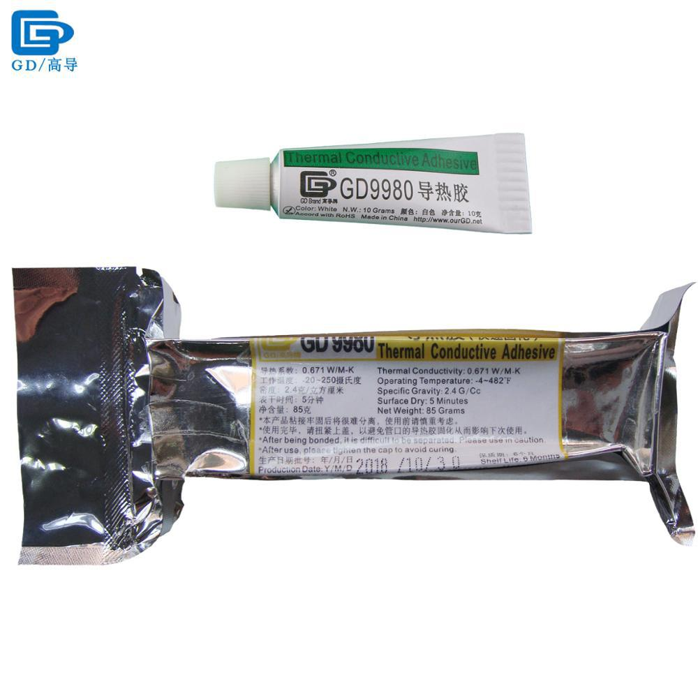 GD9980 Thermally Conductive Adhesive Cement Glue Heat Sink Plaster Silicone