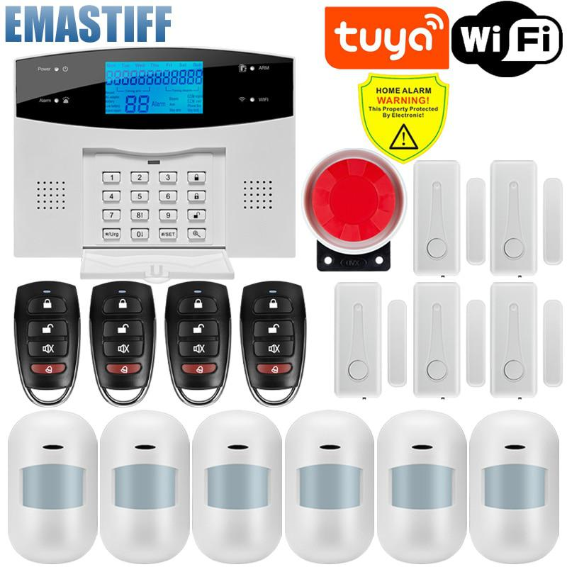 Free Shipping!IOS Android APP Control Wireless Home Security GSM Alarm