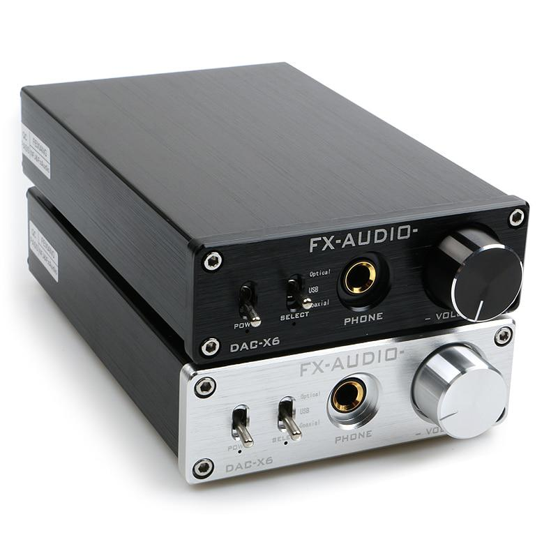 Fx-audio feixiang DAC-X6 febbre MINI HiFi USB Coassiale Fibra Digital