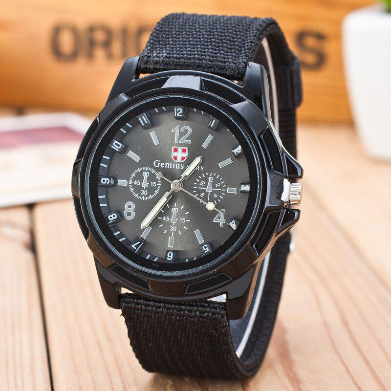 2015 New Famous Brand Men Quartz Watch Army Soldier Military