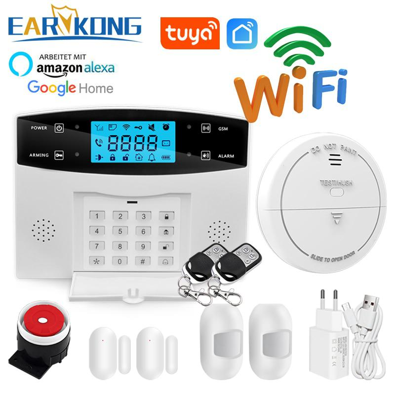 2017 Wireless Home Einbrecher GSM Alarm System, Security Guard M3D,
