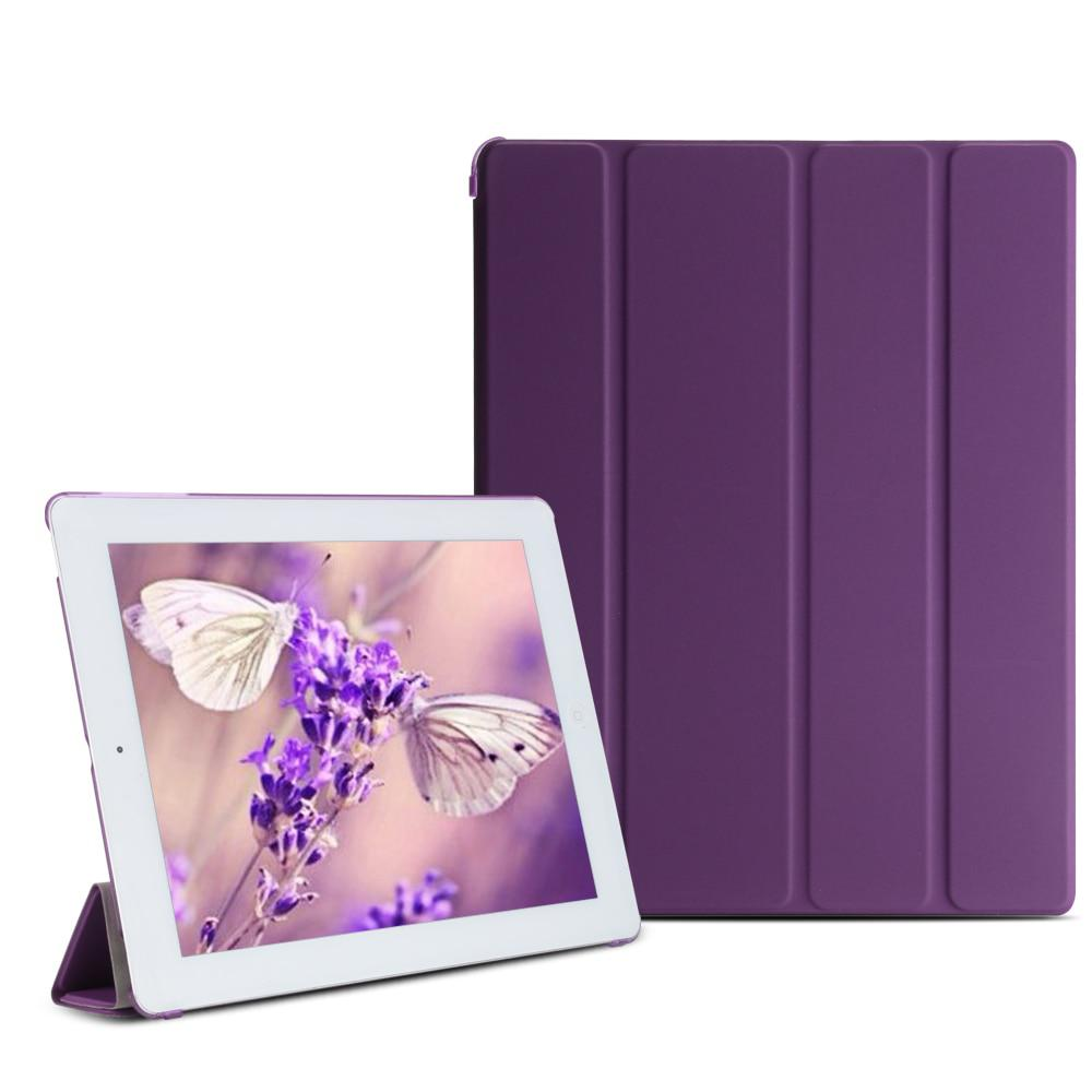 aiyopeen For iPad 2 3 4 smart case pu leather