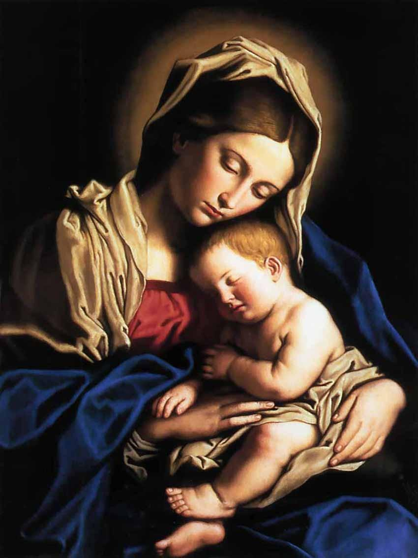 Holy mother mary pictures Mother Mary Oracle: Protection Miracles Grace of