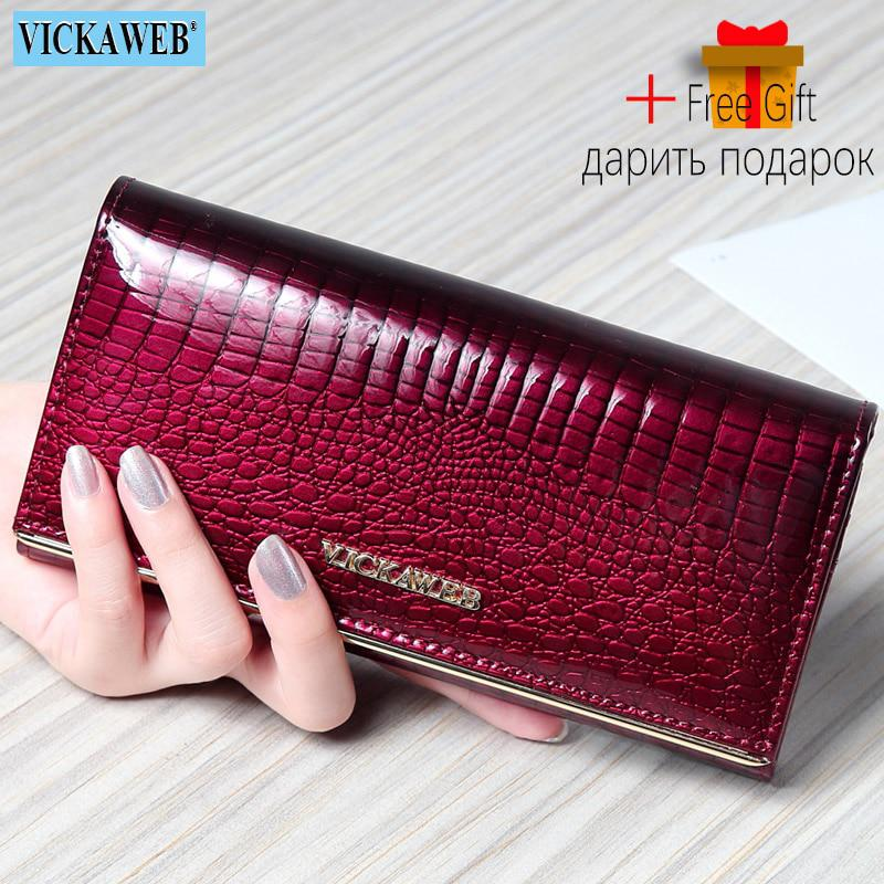 Women Wallets Brand Design High Quality Leather Wallet Female Hasp