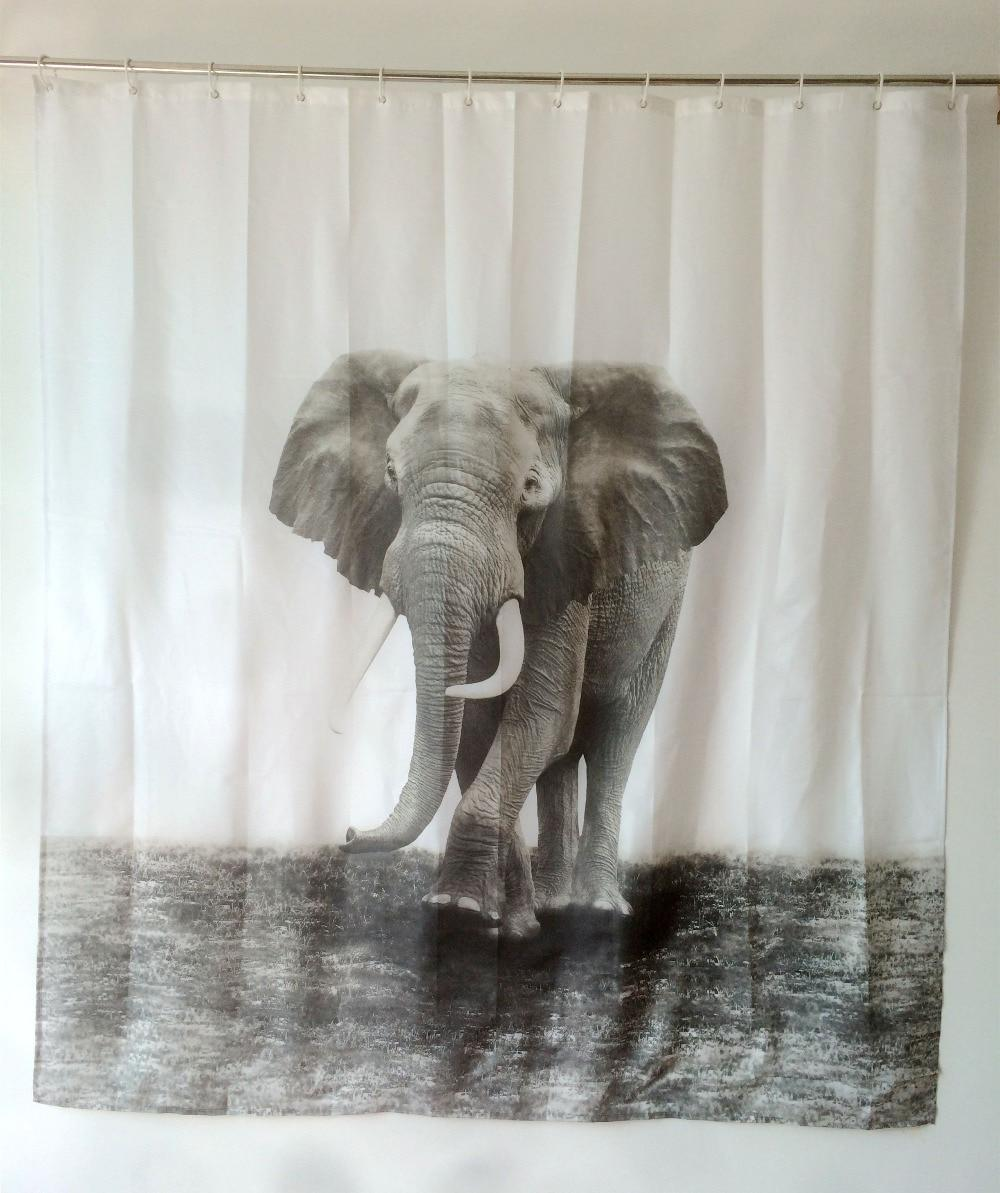 shower curtains elephant design bath products fabric waterproof polyester rideau de douche. Black Bedroom Furniture Sets. Home Design Ideas