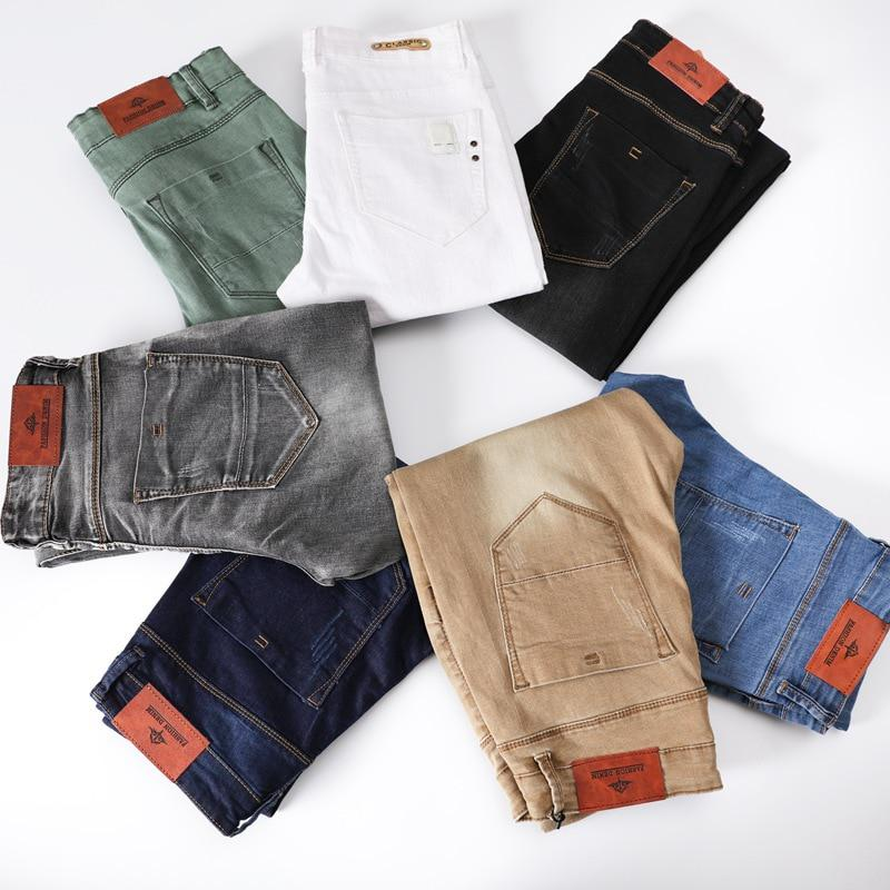 2017 New Fashion Men's Casual Stretch Skinny Jeans Trousers Tight