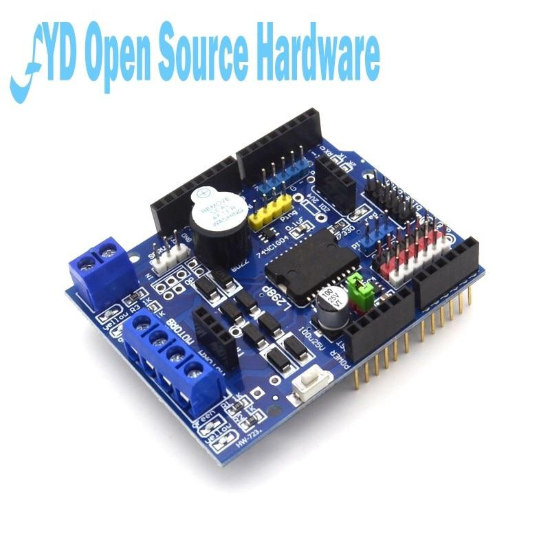 L298p motor shield motor drive for arduino compatible with uno mega 2560 Arduino mega 2560 motor shield