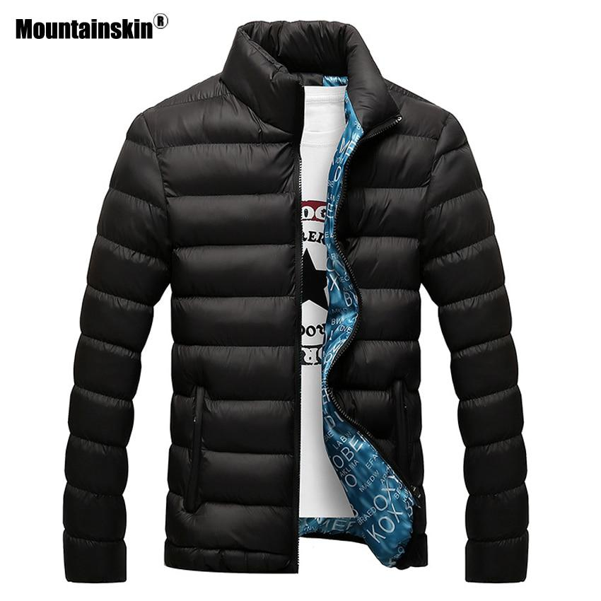 Mountainskin Winter Men Jacket 2017 Brand Casual Mens Jackets And