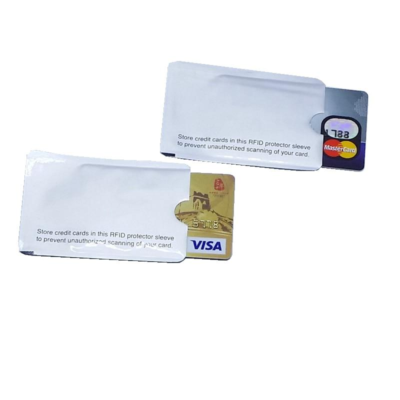 RFID Shielded Sleeve Card Blocking 13.56mhz IC card Protection NFC