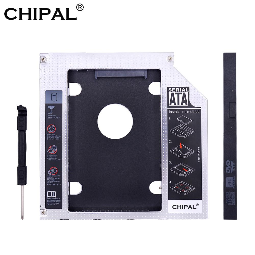 CHIPAL Universale SATA 3.0 ° HDD Caddy 9.5mm per 2.5