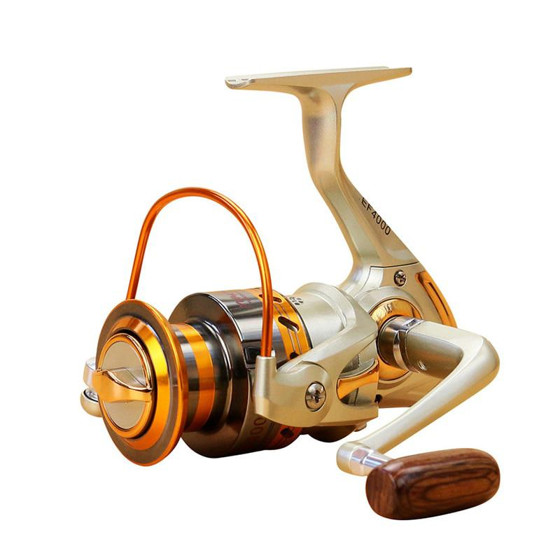 2017 Sin Pausas Carrete Pesca Spinning JF1000-7000 13BB 5.5: 1