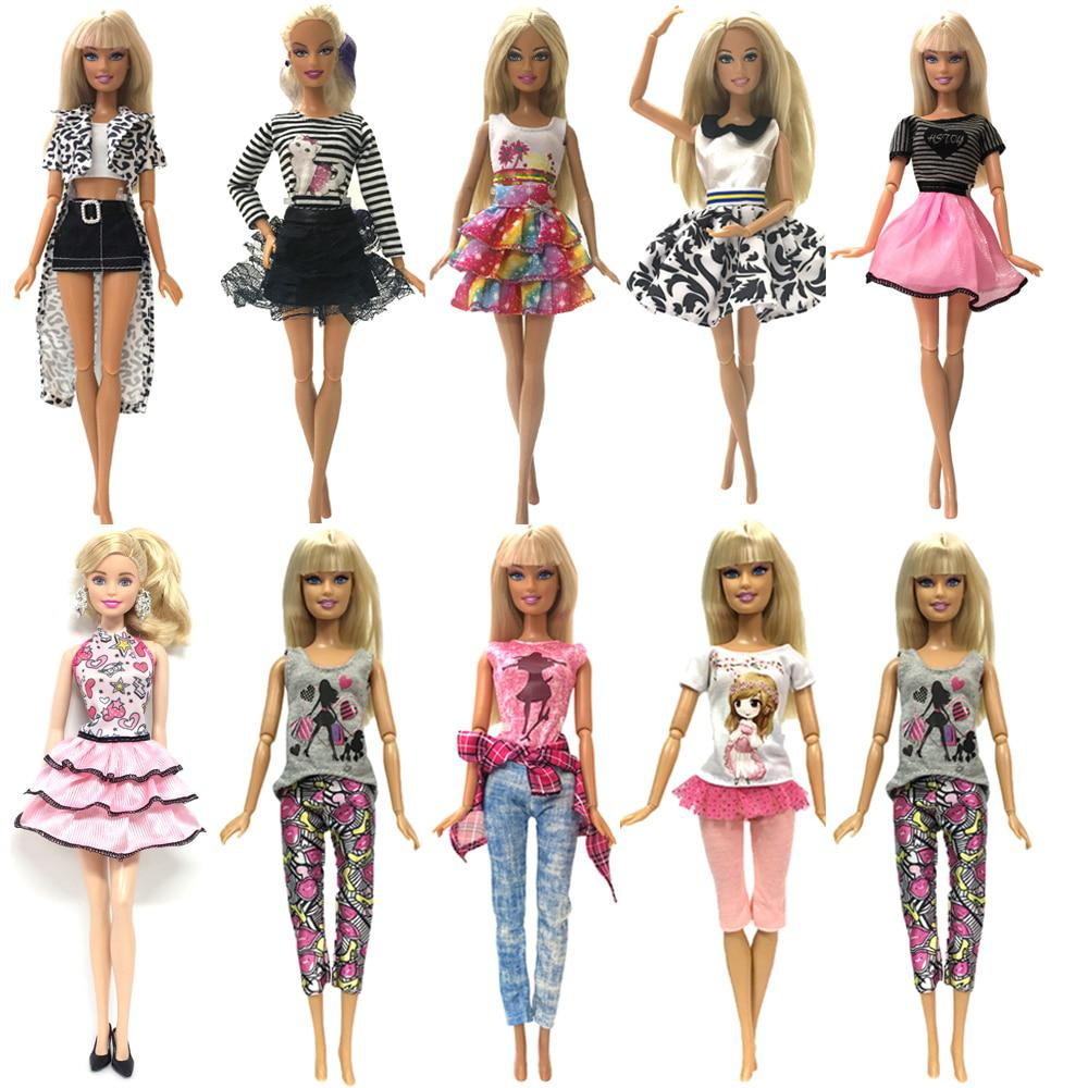 NK One Set Newest Doll Outfit Beautiful Handmade Party ClothesTop