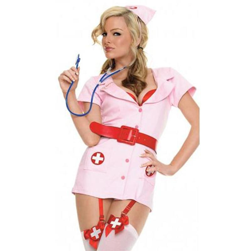 Skque sexy skimpy naughty adult halloween hot flirty nurse costume outfit