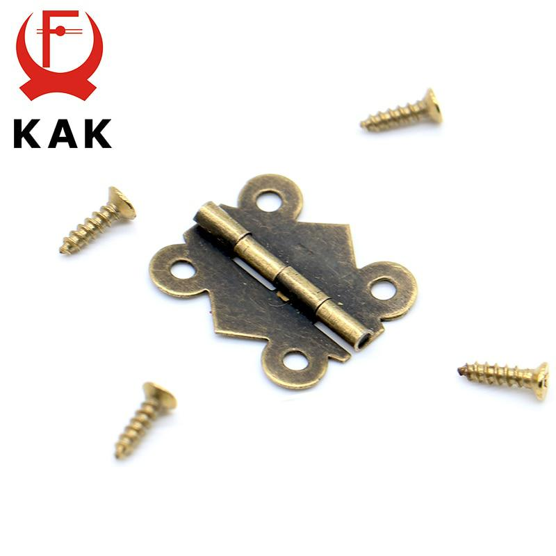 40pcs KAK 20mm x17mm Bronze Gold Silver Mini Butterfly Door