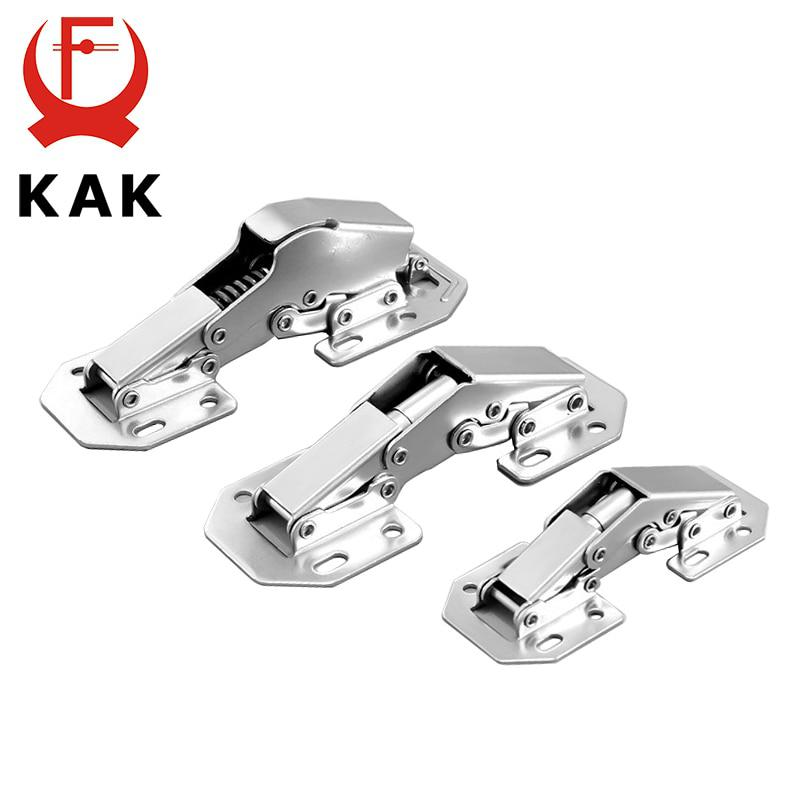 KAK 90 Degree Cabinet Hinges 3 Inch No-Drilling Hole Bridge