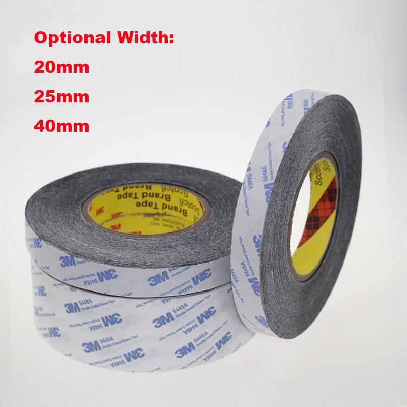 1 Meter 20mm 25mm 40mm Width 3M9448A Double Coated Tissue