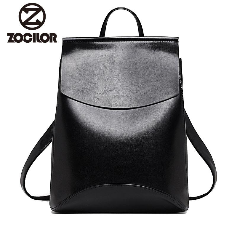 Fashion Women Backpack High Quality Youth Leather Backpacks for Teenage