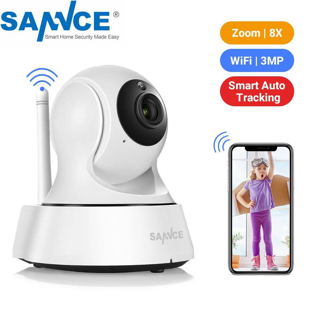 SANNCE Home Security Ip-kamera Wi-Fi Wireless Mini Netzwerk Kamera Überwachung