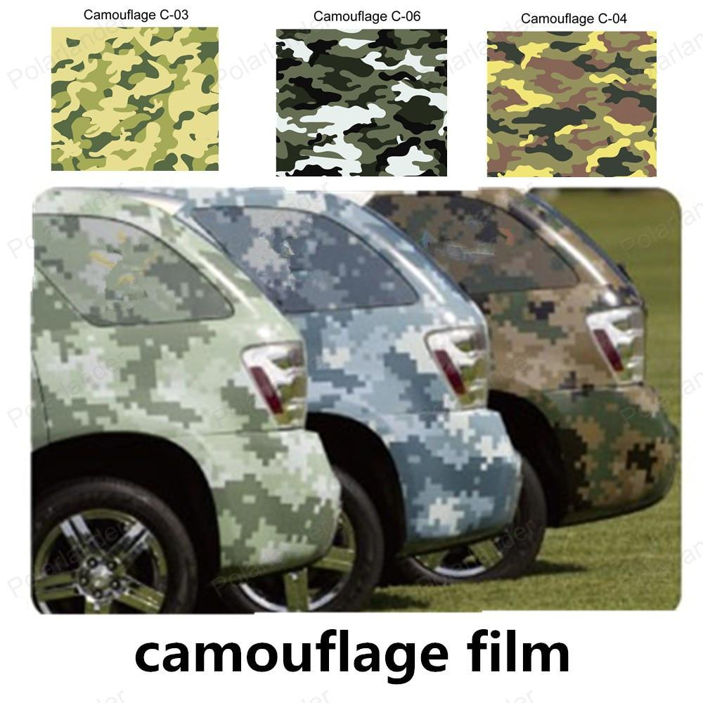 Car Sticker Film Vinyl Wrapping Camouflage Auto Exterior Carbon Fiber Accessories Motorcycle