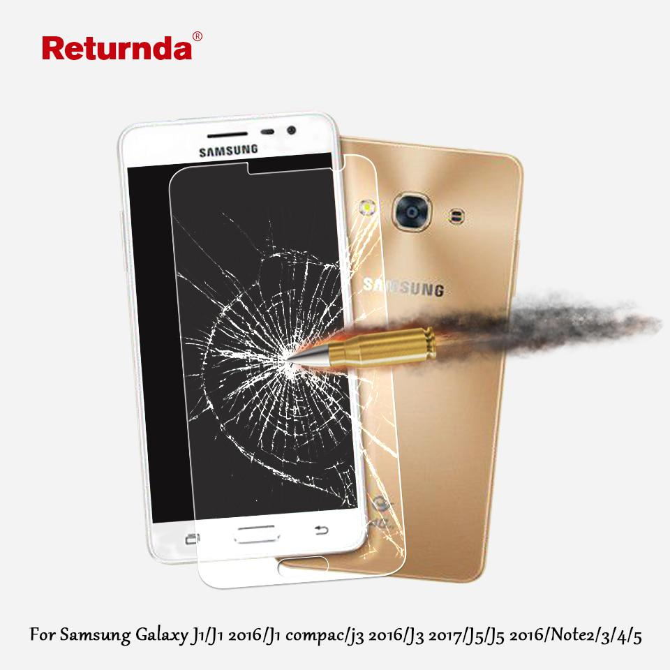 9H 2.5D 0.3mm Premium Tempered Glass For Samsung Galaxy j5