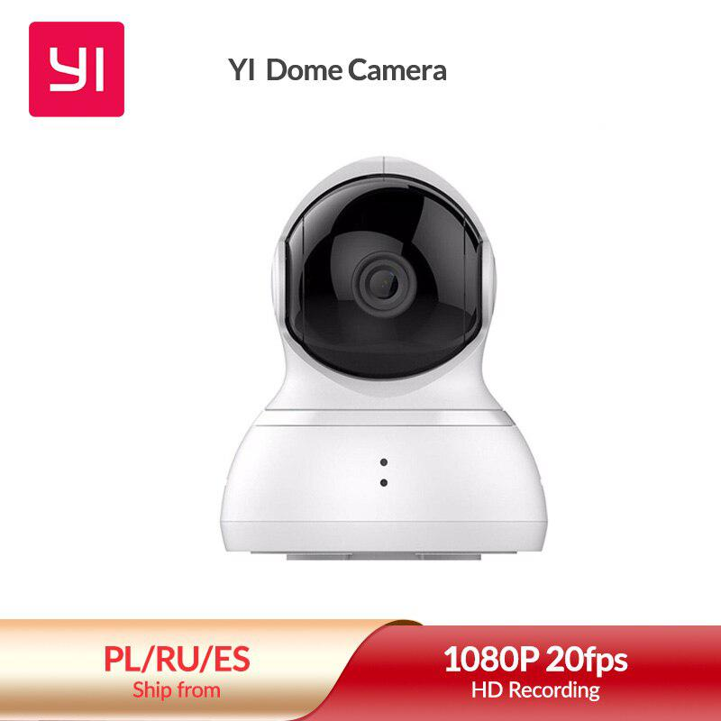 YI Dome Kamera Pan/Tilt/Zoom Wireless IP Security Surveillance System HD