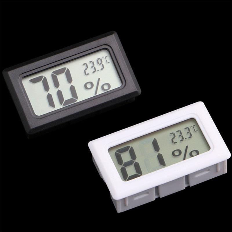 1 UNIDS Mini LCD Digital Termómetro Higrómetro Interior Temperatura Conveniente