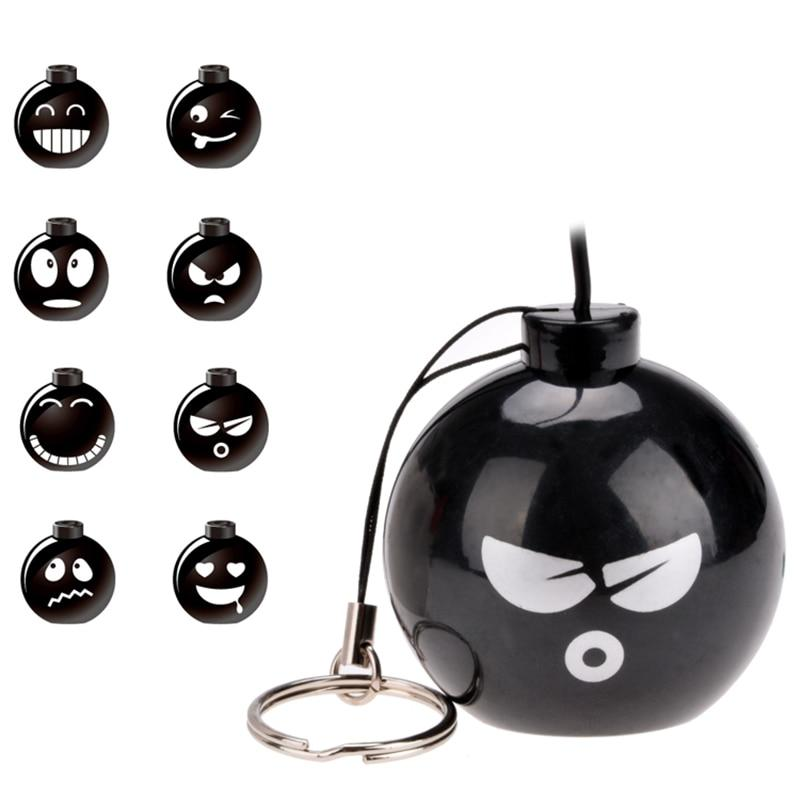 Mini Portable Cute Wire Phone Bomb Speaker Wired 3 5mm Jack Sound
