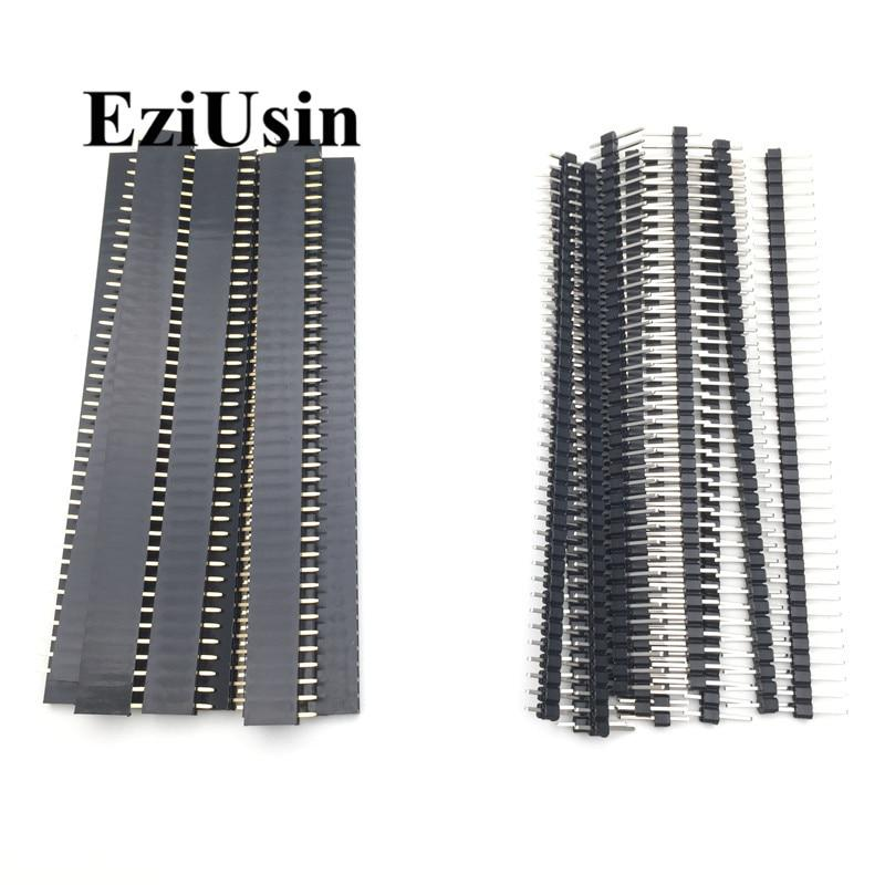 20pcs 10 pairs 40 Pin 1x40 Single Row Male and