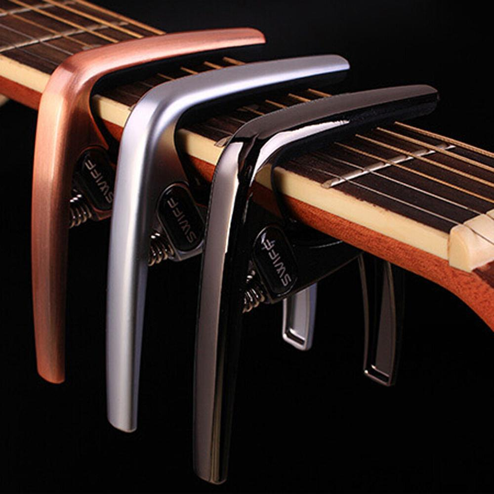3 Colors Quick Change Clamp K8 Guitar Capo for Tone
