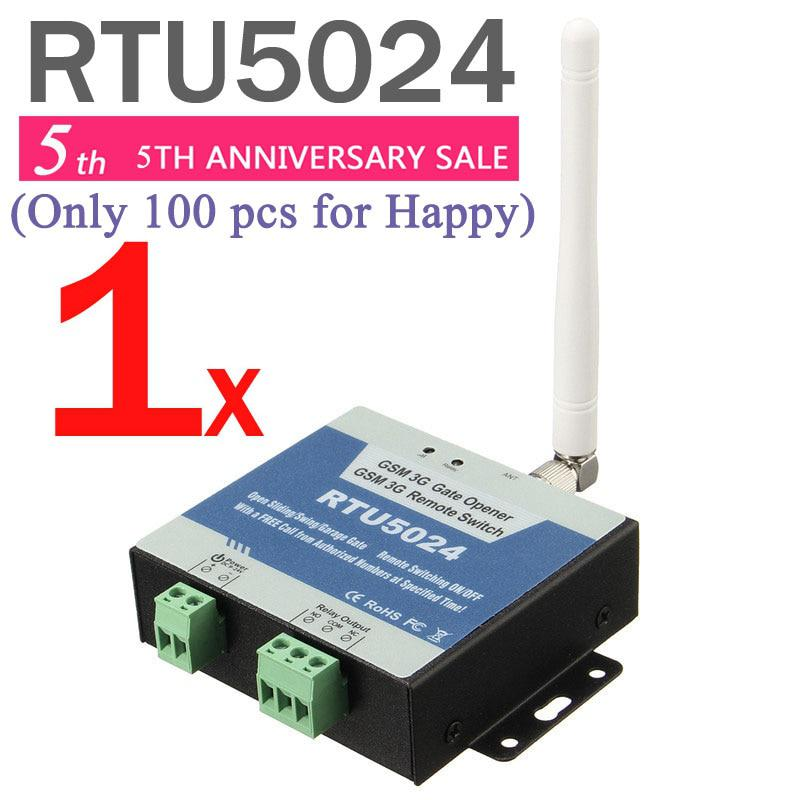 RTU5024 GSM Gate Opener Relay Switch Remote Access Control By