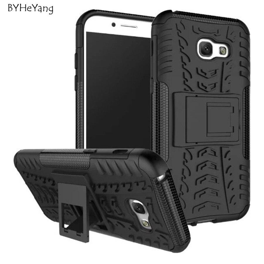 Для Samsung Galaxy A5 2017 Case Heavy Duty Броня Тонкий