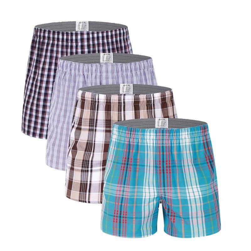 4pcs/Lot High Quality Sexy Mens Underwear Boxers Cotton Calzoncillos Hombre