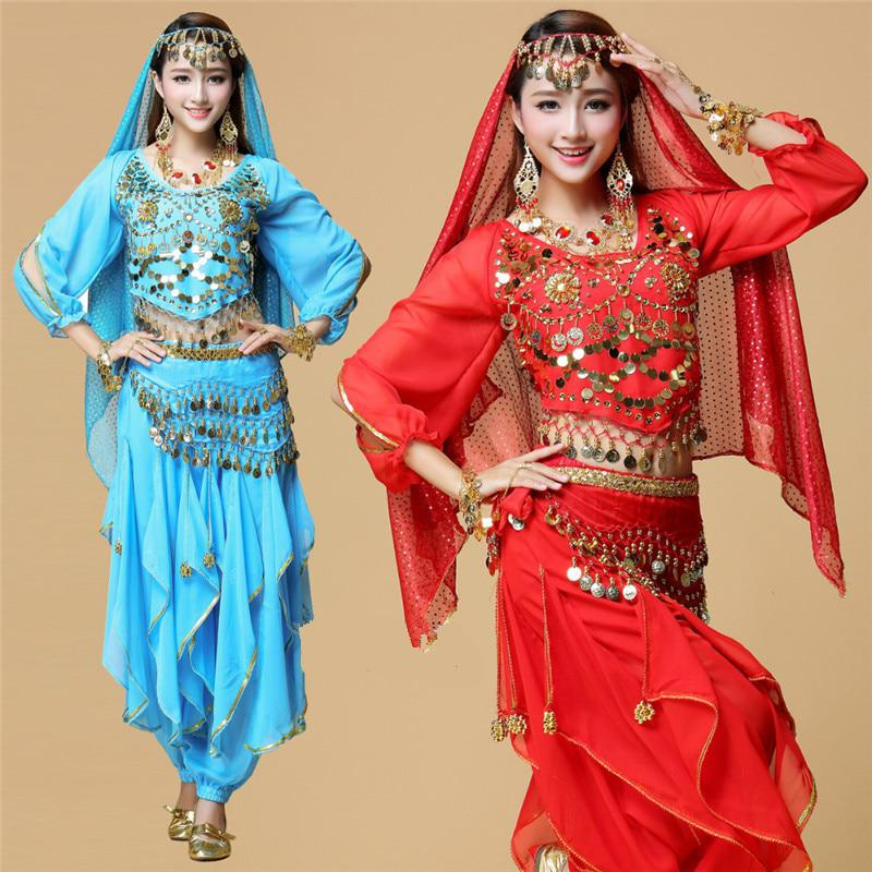 2017 New Lady Belly Dance Costume Bollywood Costume Indian Dress