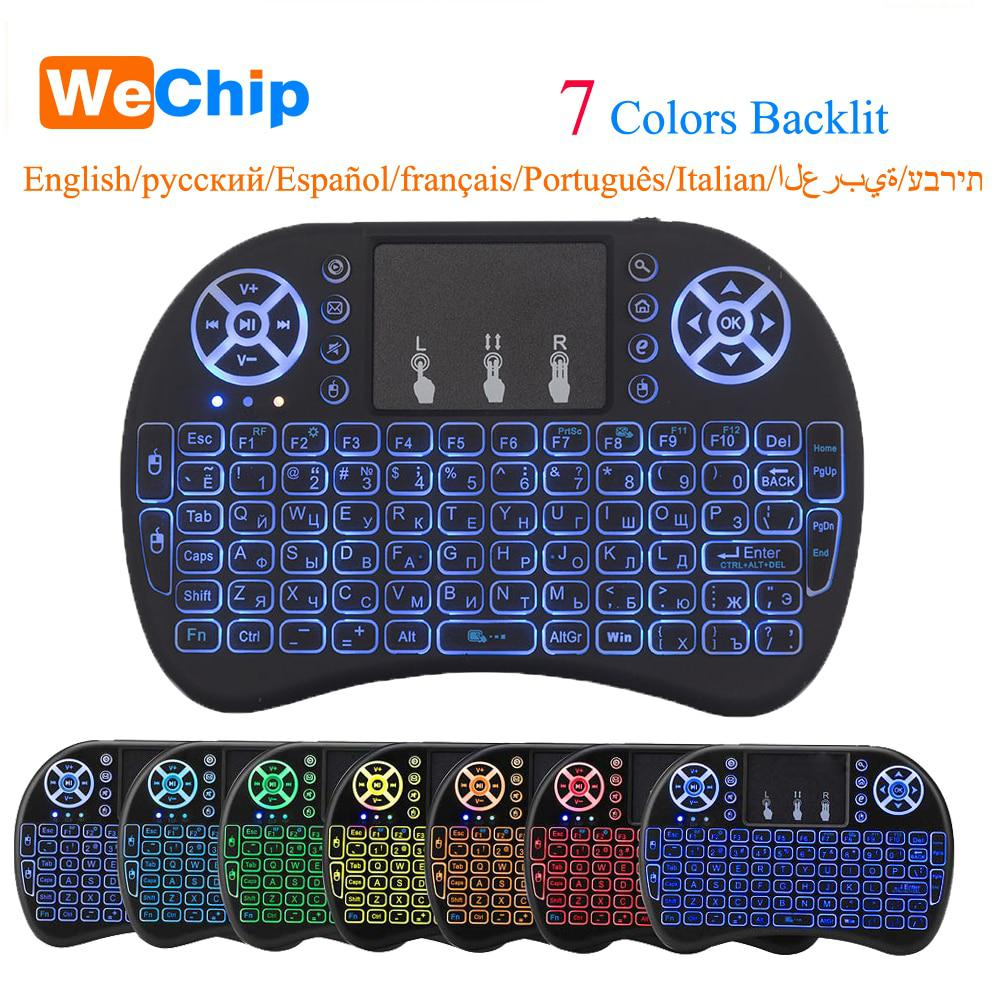 Russian Mini i8 Wireless Keyboard 2.4GHz Russian letters Air Mouse