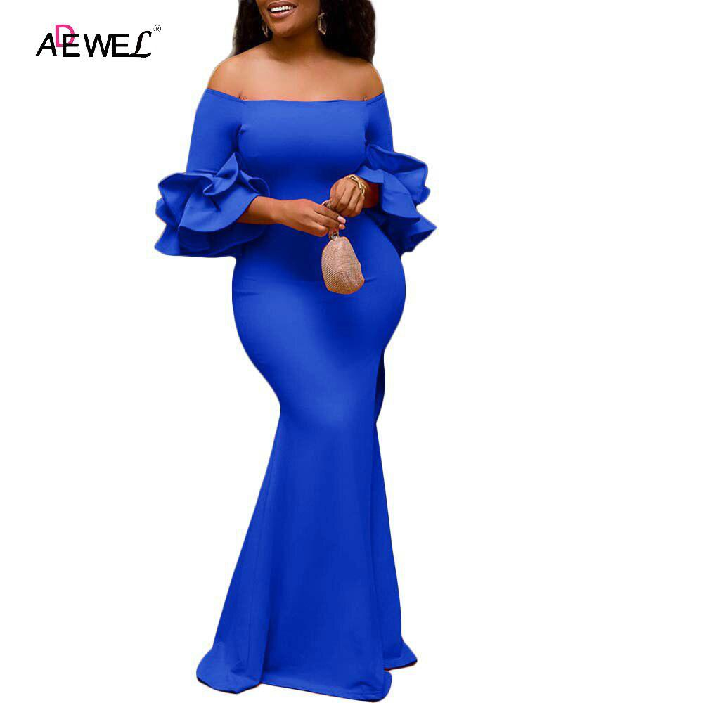 SEBOWEL Women Sexy Off Shoulder Strapless Midi Dress Ruched Elegant