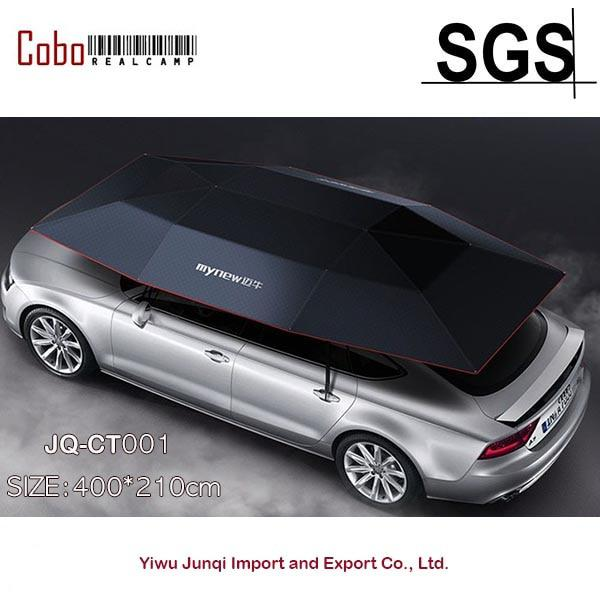 Ce Semi Automatic Car Tent Sun Shade Umbrella Awning Car Umbrella