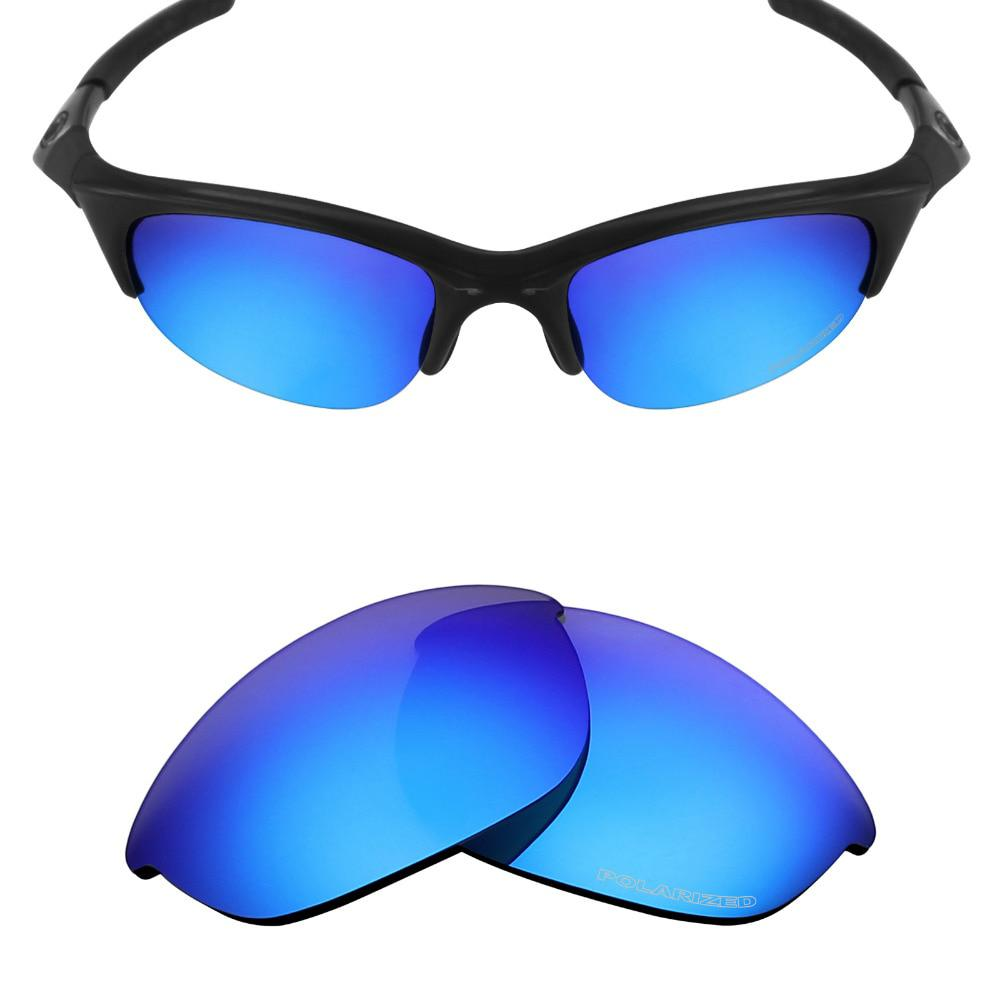 2d97f8859d3c1 Mryok POLARIZED Resist SeaWater Replacement Lenses for Oakley Half Jacket  Sunglasses Ice Blue