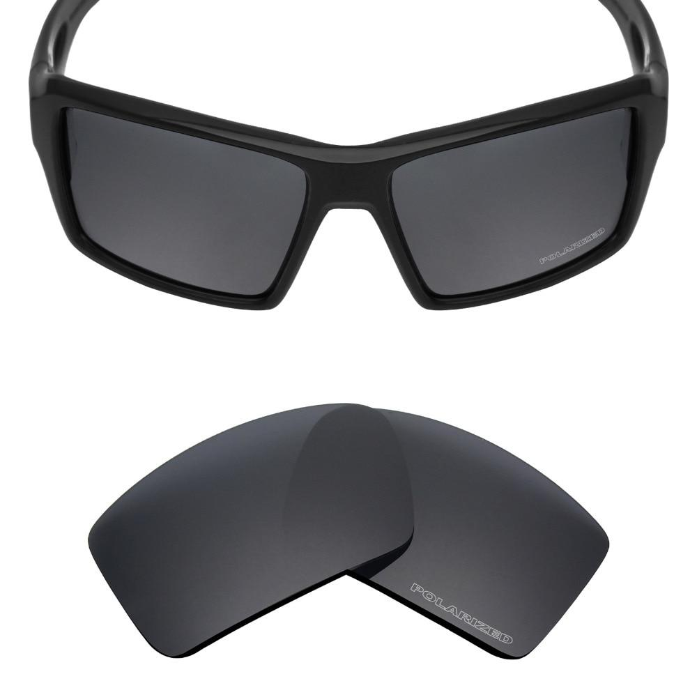 c58250c943 Mryok+ POLARIZED Resist SeaWater Replacement Lenses for Oakley Eyepatch 2  Sunglasses Stealth Black