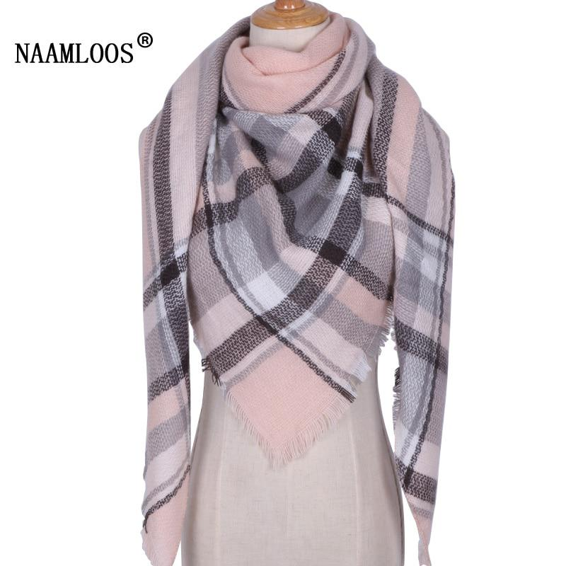2017 Brand Designer Winter Scarf For Women Cashmere Autumn Fashion