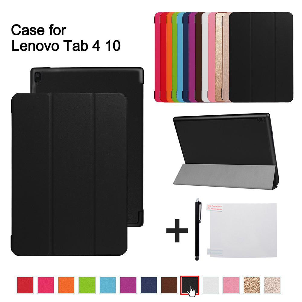 Magnetic Case For Lenovo TAB 4 10 Protective Smart cover