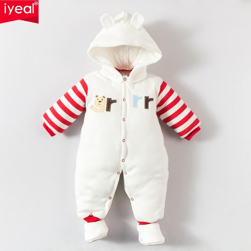 17b421fe3a3f IYEAL Baby Winter Outerwear Newborn Clothes Infant Boys Girls Cotton ...