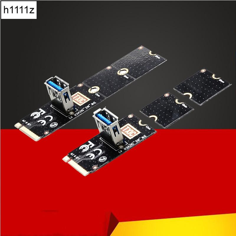 NGFF to PCI-E Riser Card M2 Slot to PCIe Expansion