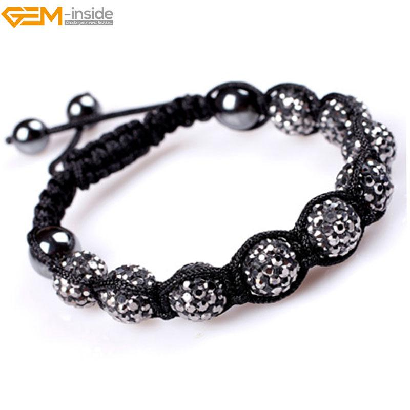 Gem-inside Clay Rhinestones 10mm Shaballa CZ Crystal Pave For Women Fashion  Jewelry - Pricearchive.org af5b5c4813e3