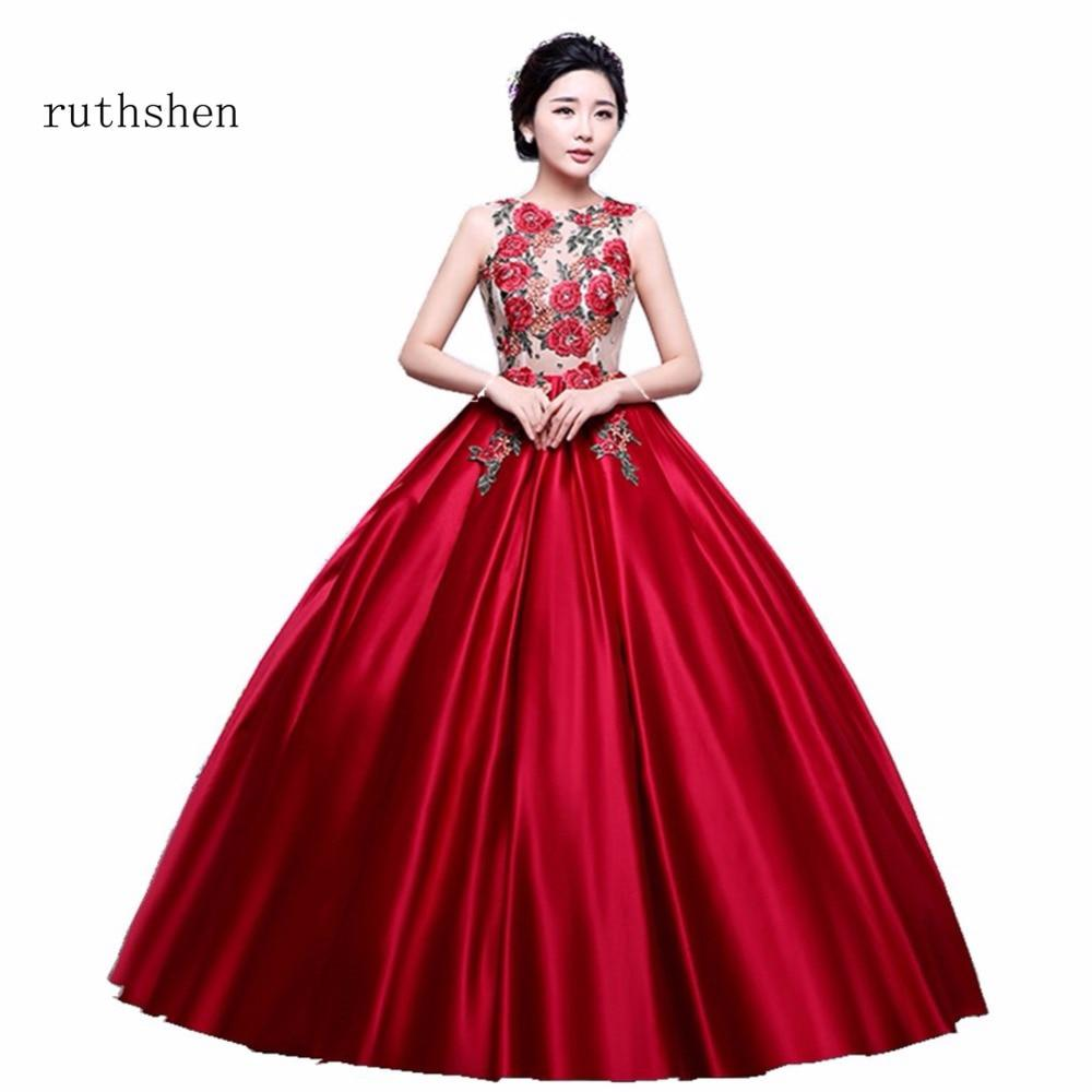 1aa44dacbe Cheap Red Long Formal Dresses