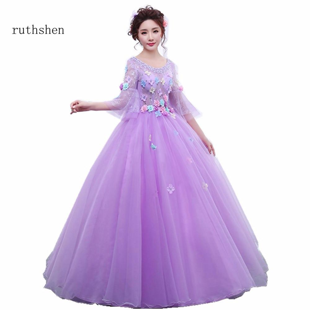 Purple Ball Gowns