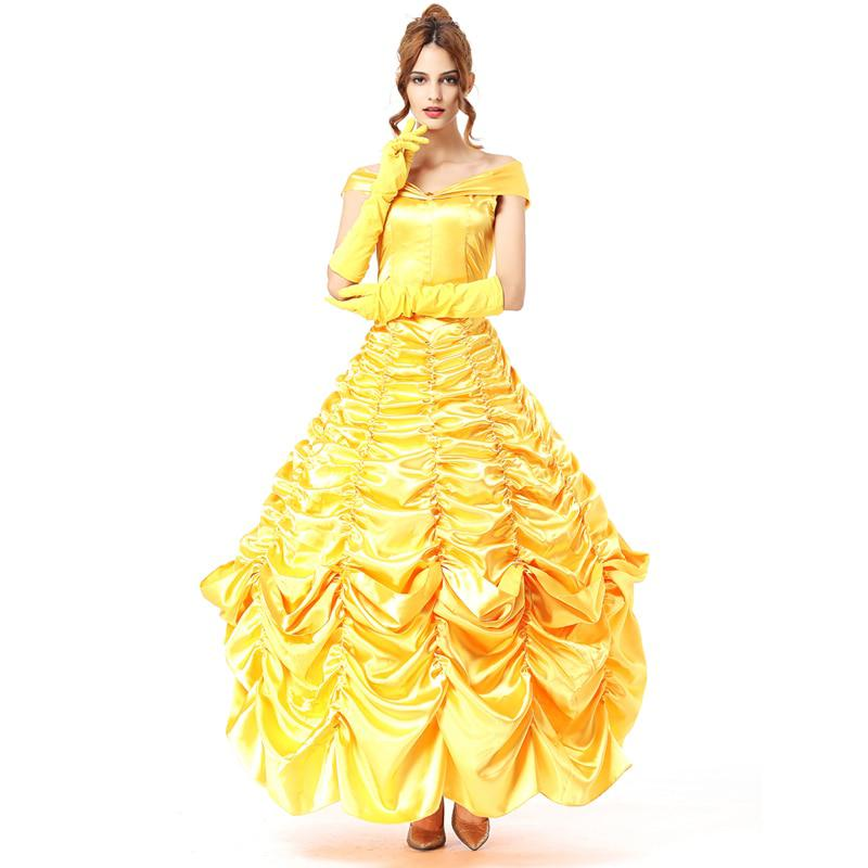 long adult princess belle costume halloween costumes for women sexy