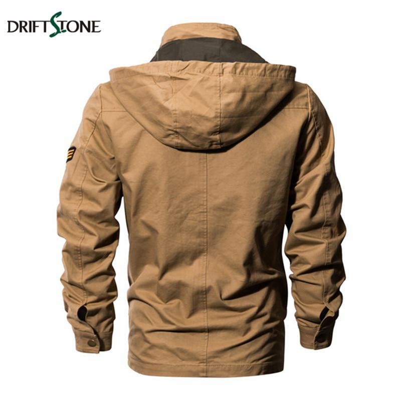 33b2ac85bfe2c Military Tactical Jacket Men Plus Size Windproof Hooded Air Force Pilot  Jackets - Pricearchive.org