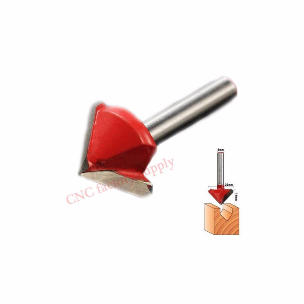 V Groove Milling Cutter CNC 3D Bits Router Engraving Carving Knife Tungsten  - US $4 51