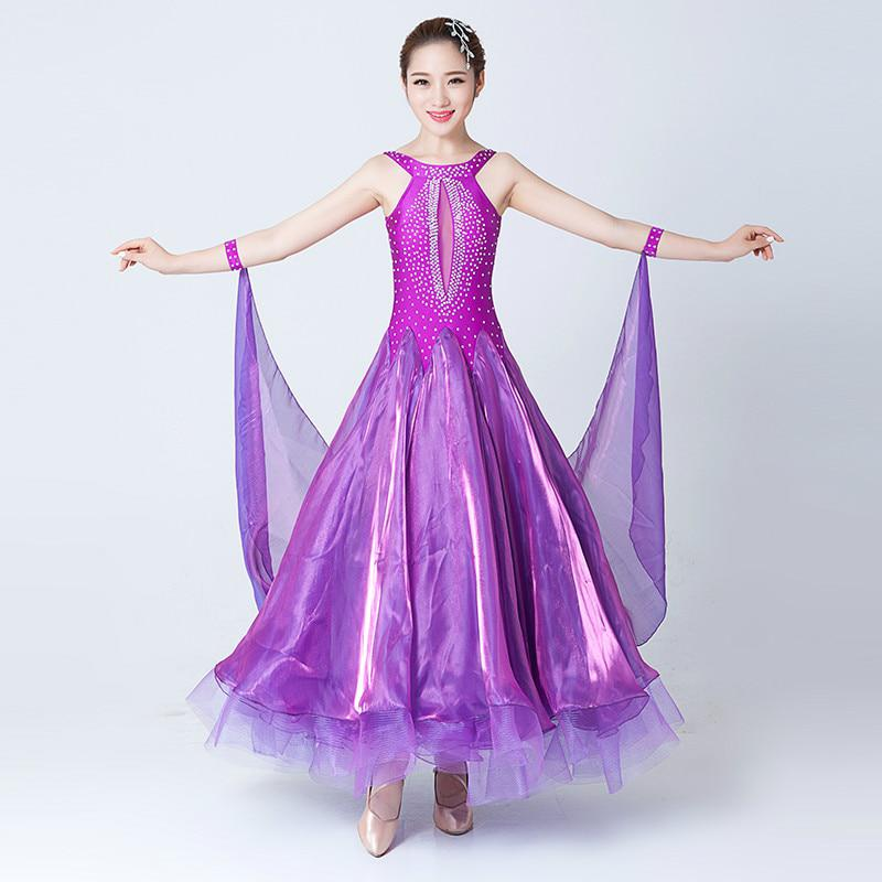 c5bfad168 Ballroom Waltz Tango Spanish Flamenco Dance Dress Standard Ballroom Dress